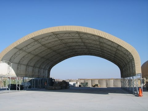 Big Top Fabric Structure - Removable Side Panels