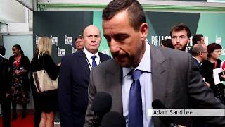 Adam Sandler fights Ben Stiller on The Meyerowitz Stories, Emma Thompson. BFI London Film Festival