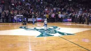 6 Year-old Singer Shocks Nba Crowd With National Anthem Rendition