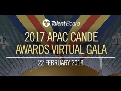 2017 APAC Candidate Experience Awards Virtual Gala