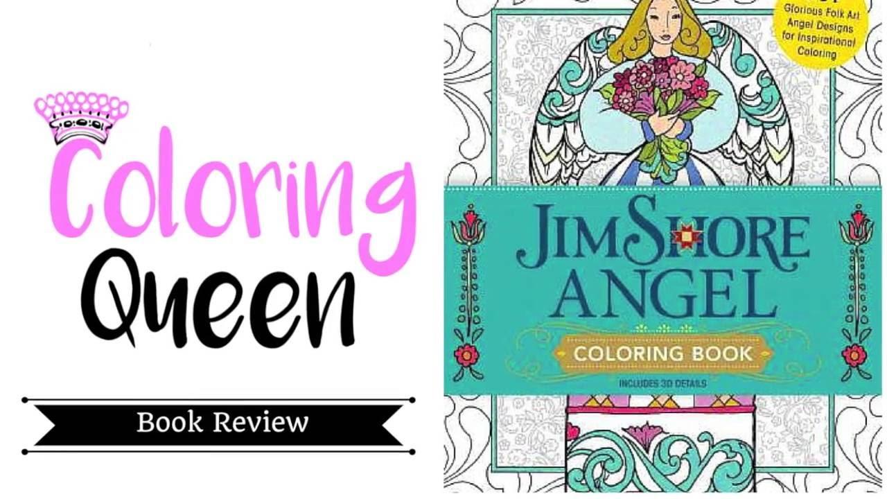 jim shore angels coloring book review - Coloring Book Angels