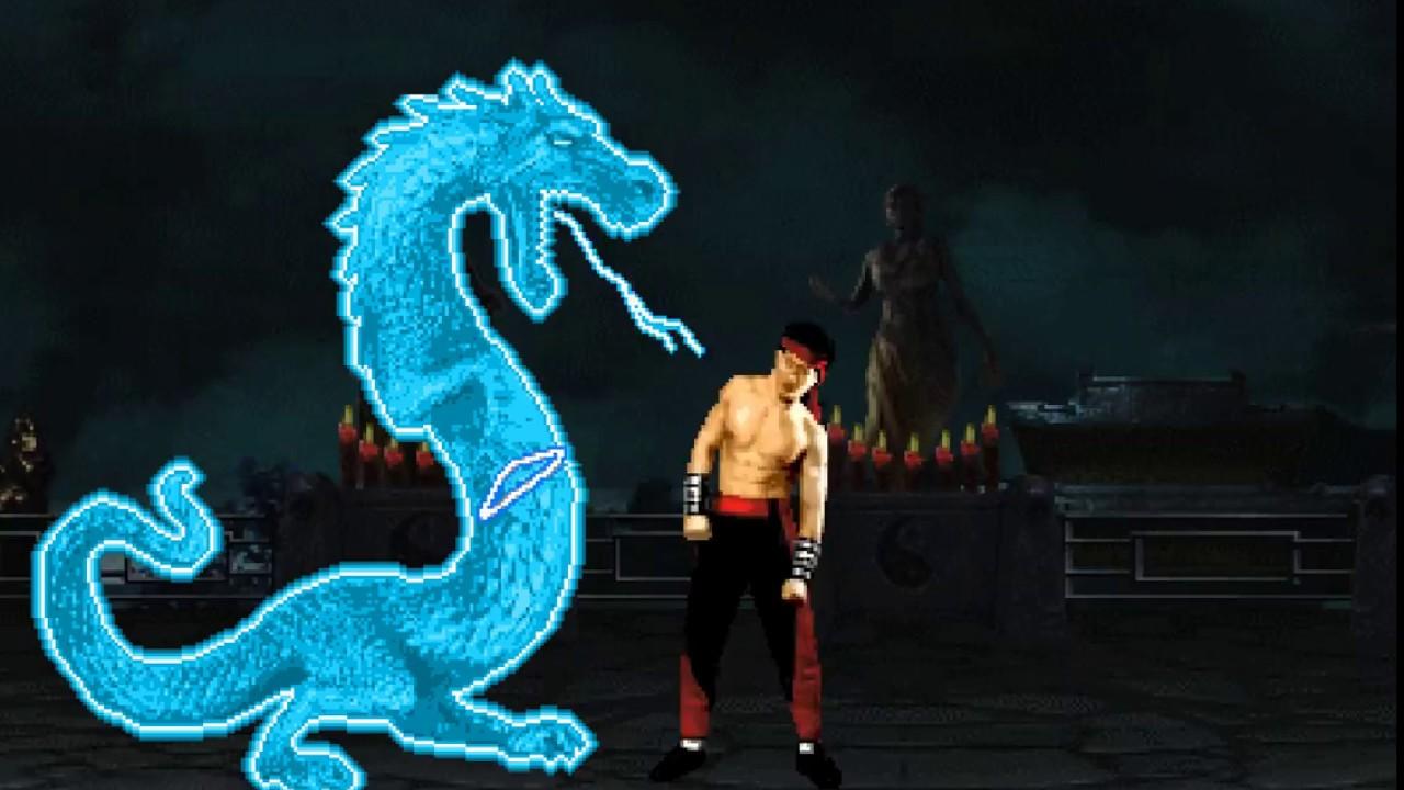 """Mortal Kombat Dragon: Mortal Kombat Raiden """"Dragon"""" Fatality"""
