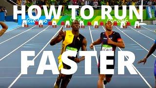 How to Run FASTER | Usain Bolt Running Analysis