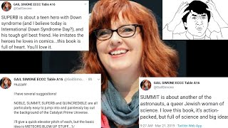 SJW Comic Pros Sound Like Aliens Wearing Human Suits When They Try To Promote Their Books