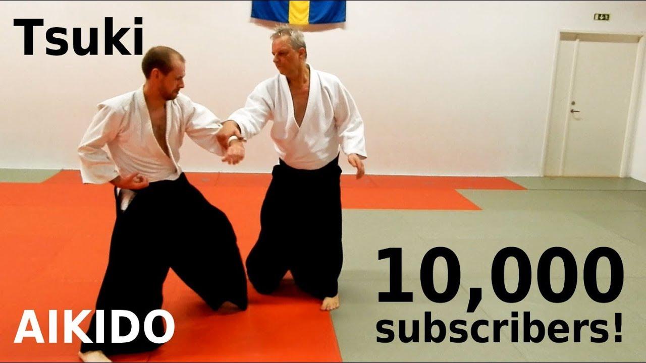10,000 subscribers extra: Aikido against PUNCHES,  by Stefan Stenudd, 7 dan Aikikai shihan