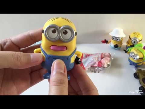 """2017 Happy Meal """" Despicable Me 3 """" (Review) 