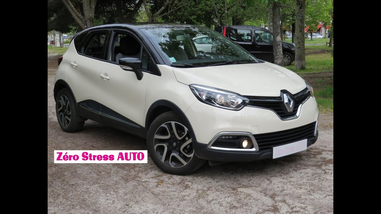 renault captur 1 2 tce 120 edc ivory intens kaptur zerostressauto zerostress auto youtube. Black Bedroom Furniture Sets. Home Design Ideas