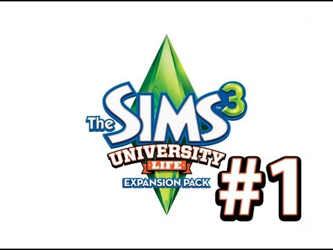 The Sims 3: University Life - СТУДЕНТОТА - 1 Серия