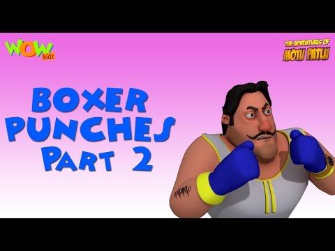 Boxer Punches - Motu Patlu Compilation - Part 2