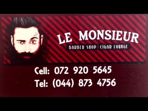 Le Monsieur Barber Shop Grooming Session