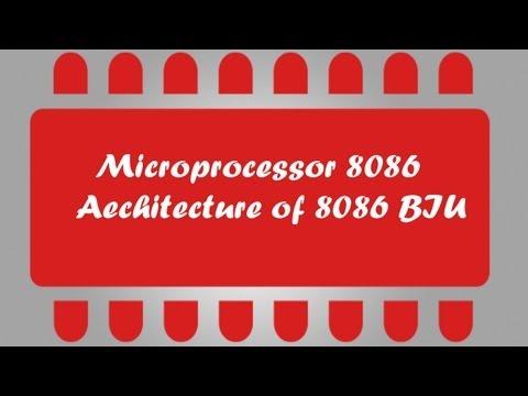 Microprocessor 8086 Tuto 5 - Architecture BIU Part 1