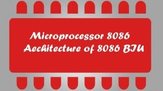Microprocessor 8086 Tuto 5 - Architecture BIU Part 1