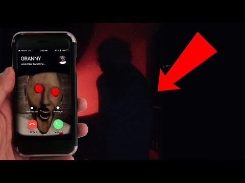 [MUST WATCH] CALLING GRANNY ON FACETIME AT 3 AM | HIDE AND SEEK WITH GRANNY (SHE CAME TO MY HOUSE)