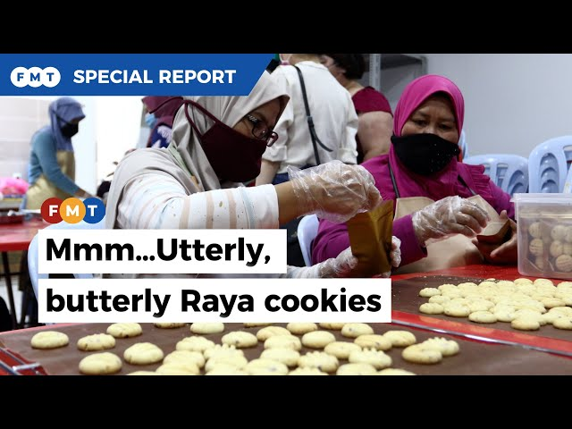 Mums' Raya cookies that keep you coming back for more