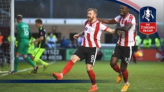 Lincoln City 3-1 Brighton & Hove Albion - Emirates FA Cup 2016/17 (R4) | Official Highlights