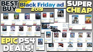 EPIC BEST BUY PS4 BLACK FRIDAY 2019 DEALS REVEALED - AWESOME GAMES SUPER CHEAP!