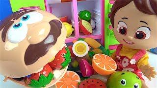 Niloya Aç Adama kes oyna kesilebilen sebze meyve ikram ediyor Mete Tospik ile pazara gidelim şarkısı