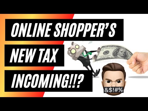 NEW 'online shoppers TAX' coming soon!!? Amazon  Apple  Argos  Very  Game & more to be affected!!
