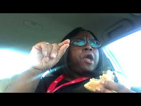 Hardee's 1/3 Burger and Fries Mukbang with Story time of my jobs history
