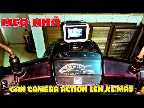 Cách Lắp Camera Action Trên Xe Máy Làm Vlog   Văn Hóng