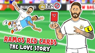 🔴RAMOS loves RED CARDS!🔴 1-2 Real Madrid vs Man City (Champions League 2020 Parody Goals Highlights)