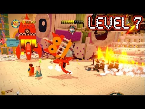 The Lego Movie Video Game - Level 7: Attack on Cloud Cuckoo Land