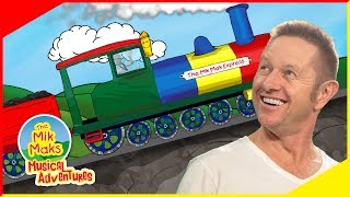 The Mik Mak Express | Train Song For Kids | Children's Music and Nursery Rhymes