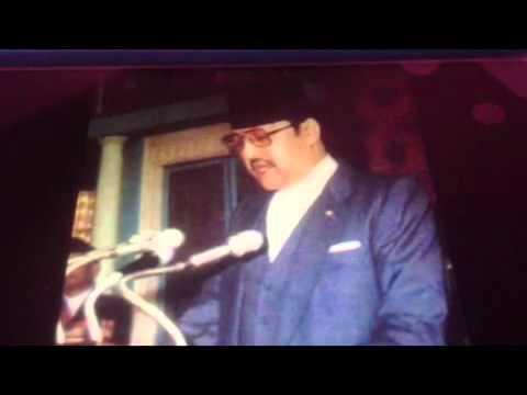 Birendra shaha's speech to the country
