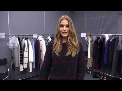 Model MAJA KRAG - Falconeri Fall Winter 2106/2017 Fashion Show
