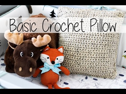 Basic Crochet Pillow - the easiest ever! | Sewrella