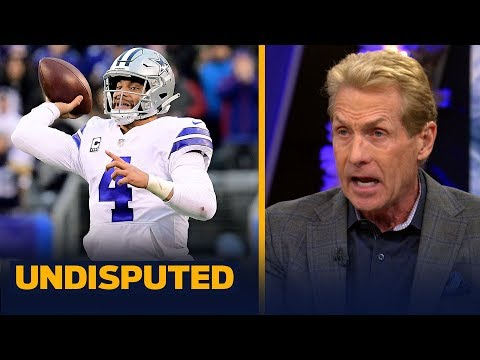 Skip Bayless reacts to the Cowboys' Week 17 close win vs. the Giants   NFL   UNDISPUTED