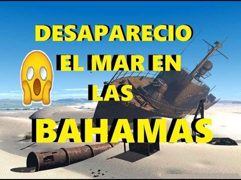 DE INFARTO!! DESAPARECIO EL MAR EN LONG ISLAND, BAHAMAS