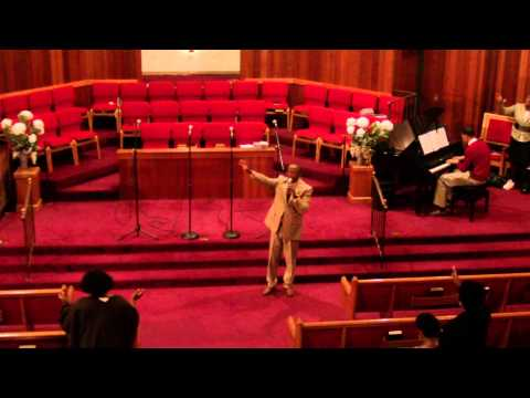 """""""Withholding Nothing / I Give Myself Away"""" by Elder Louis Andrus at EBC's 123rd Homecoming"""