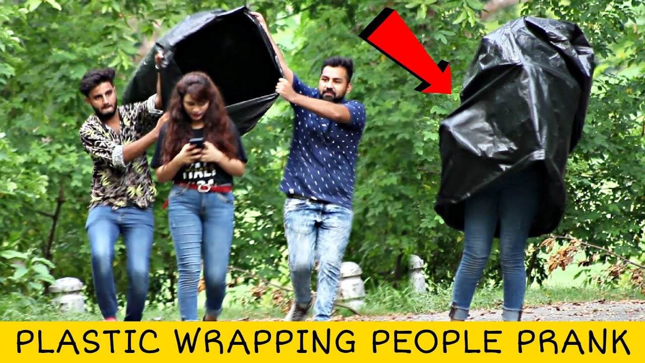 Download Plastic Wrapping People Prank | Part 3 @That Was Crazy
