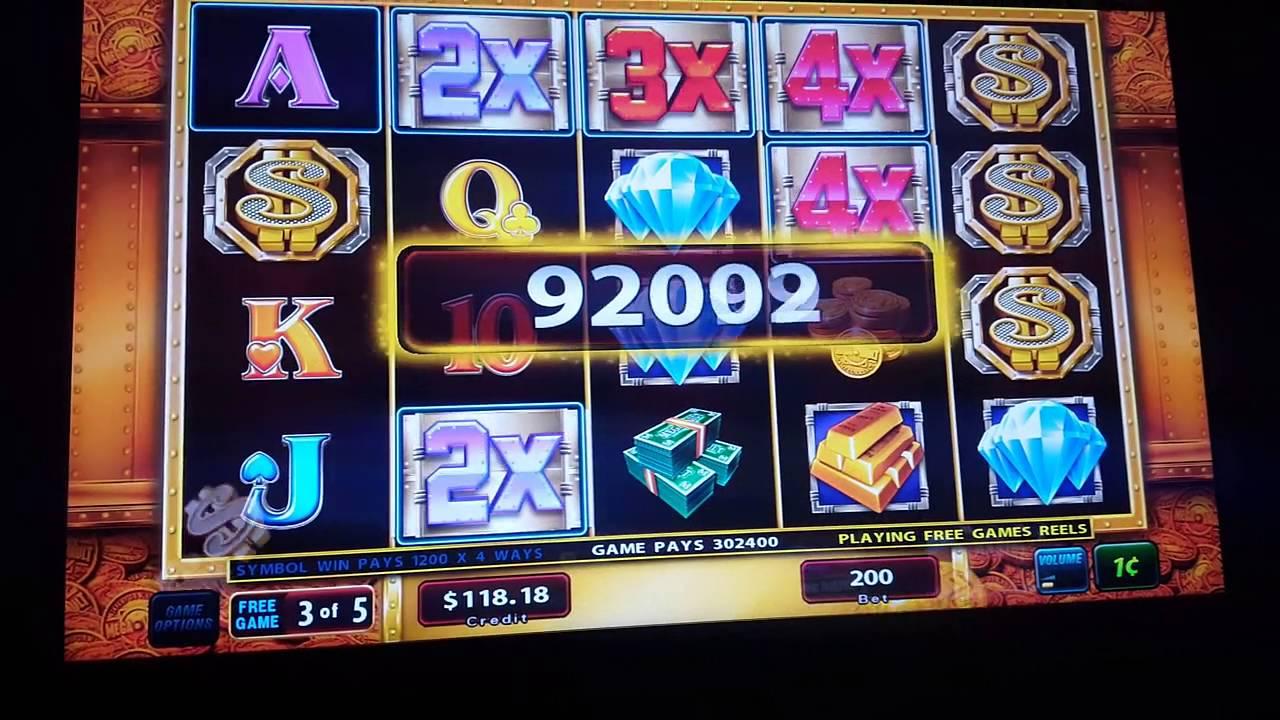 Money Vault Slot Machine
