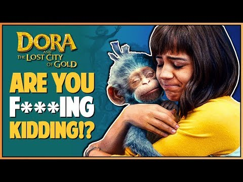 DORA AND THE LOST CITY OF GOLD TRAILER REACTION - Double Toasted