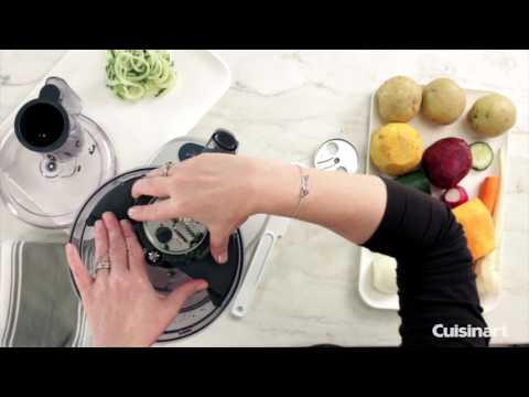 Elemental Food Processor Spiralizer Attachment Demo (FP-SP)