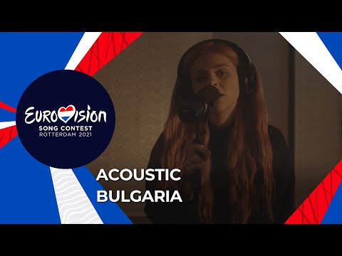 VICTORIA - Acoustic version of Growing Up Is Getting Old - Bulgaria ?? - Eurovision 2021