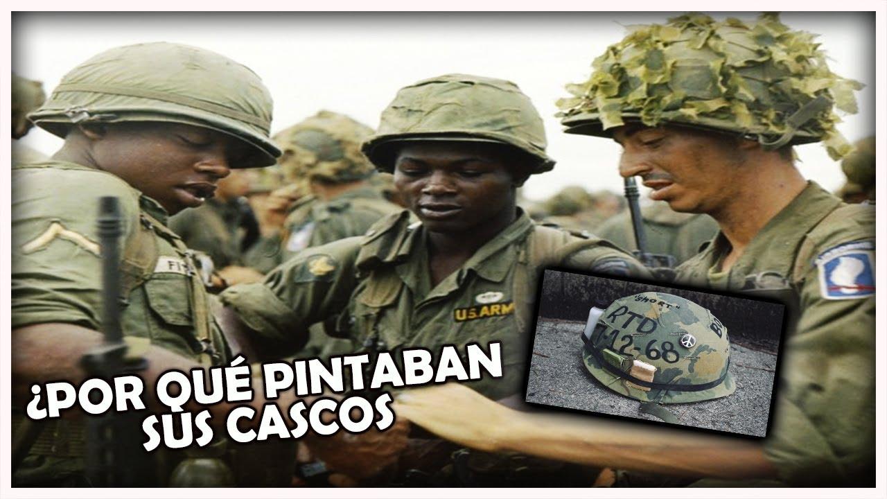 Guerra de Vietnam: ¿Por qué los soldados de USA pintaban sus cascos?