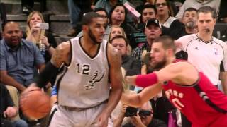 Kawhi Leonard and LaMarcus Aldridge Combine for 64