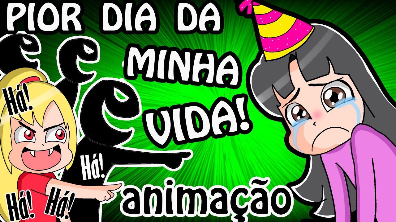 FUI HUMILHADA NA MINHA FESTA DE ANIVERSÁRIO (Animação)