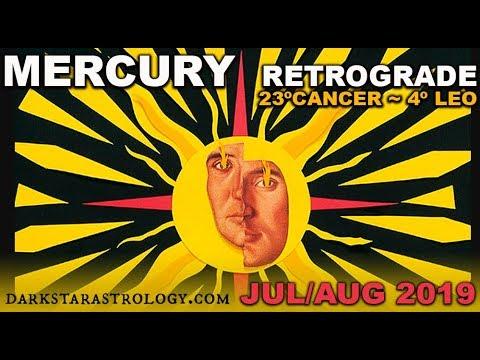 Mercury Retrograde July 2019 ~ by Darkstar Astrology