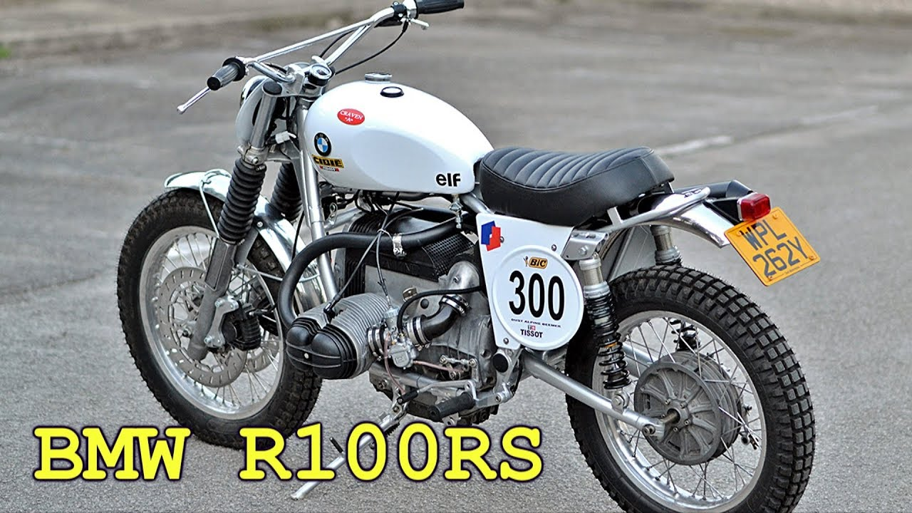 bmw r100 rs 1982 scrambler youtube. Black Bedroom Furniture Sets. Home Design Ideas