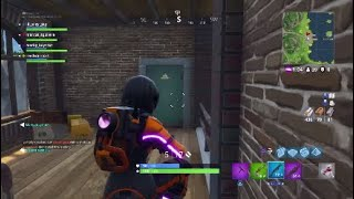 Fortnite Squad clutch + new dark vanguard skin
