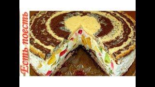 """Торт """"Цыганские тропы"""". Очень вкусный и необычный и без украшения."""