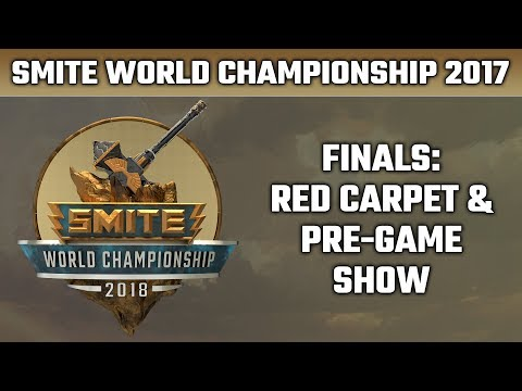 SMITE World Championship 2018: Day 5 Red Carpet & Pre-Game Show