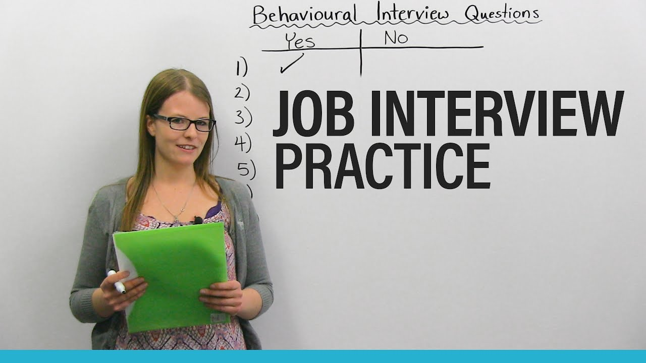 How to succeed in your JOB INTERVIEW: Behavioral Questions #1