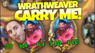 Wrath Weaver Carry Me! | Zalae Hearthstone Battlegrounds