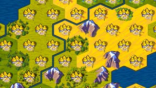 I put a Goody Hut on Every Single Tile in Civ 6
