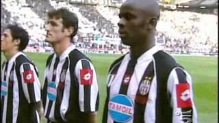 Milan Juventus 28 Maggio 2003...IN CAMPO 11 PIEMONTESI TOSTI
